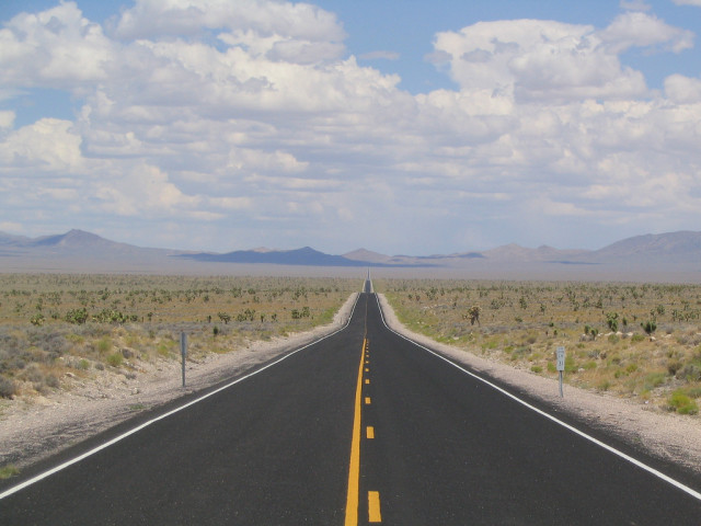"Do you dare travel the ""Extraterrestrial Highway""?"