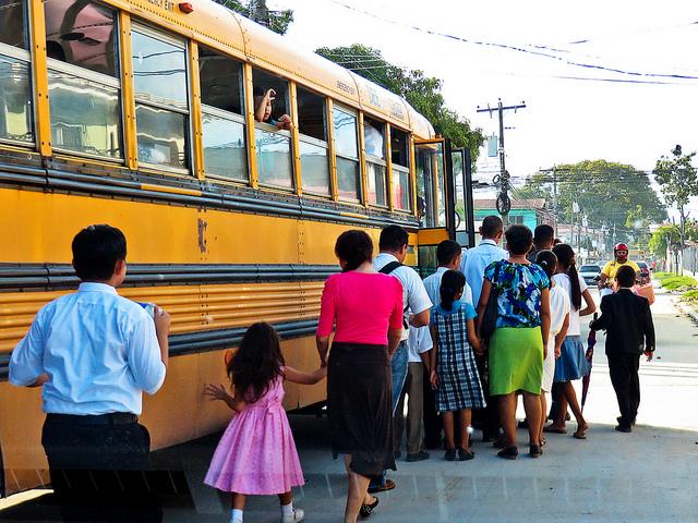 Honduras bus